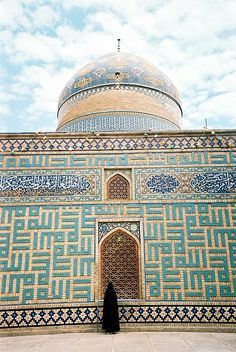 """""""Buy Islamic mosque tiles with Arabic calligraphy in Iran, Isfahan"""" Mosque Architecture, Art And Architecture, Islamic Tiles, Religion, Beautiful Mosques, Islamic Art Calligraphy, Caligraphy, Grand Mosque, Islamic World"""