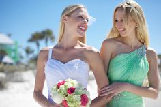 Mint Beach Wedding  |  roohi photography