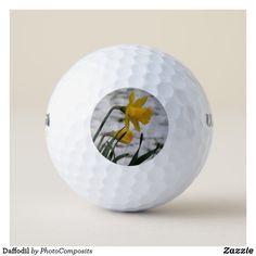 Daffodil Golf Balls Ladies Golf, Women Golf, Golf Wear, Hole In One, Golf Accessories, Golf Fashion, Golf Outfit, Golf Shoes, Golf Ball