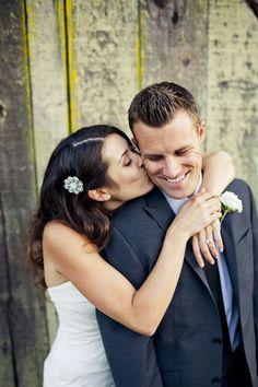 Pink San Luis Obispo Barn Wedding - Bride and Groom Poses - Hochzeit Barn Wedding Photos, Wedding Picture Poses, Wedding Couple Poses, Wedding Couples, Wedding Bride, Wedding Pictures, Wedding Tips, Wedding Details, Wedding Dresses