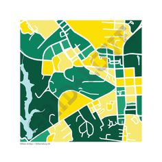 William & Mary Map Print by gridlove on Etsy
