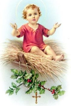 """Jesus Thursday December 2014 Birth of the Lord in the Gospel of John """"Word was the true light that enlightens every man"""". Religious Pictures, Jesus Pictures, Religious Icons, Religious Art, Vintage Holy Cards, Jesus Christ Images, Christ The King, Prayer Cards, Catholic Art"""