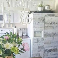 """329 Likes, 23 Comments - Kristy (@thepaintednest) on Instagram: """"Hope you're all having a great day!! Let's just take a minute to admire this gorgeous refrigerator.…"""""""