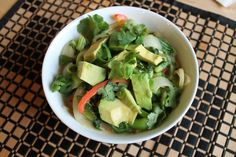 {Recipe} Avocado Curry Noodles | Running With Tongs | Vegan