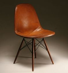 Cognac Leather Herman Miller? I'll take 4. From Manifold Destiny.