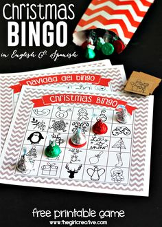 Fun Christmas Party Games - Christmas Games Ideas for Everyone! : Find 15 fun Christmas party games everyone will love. These Christmas games ideas will be a hit. Christmas games for groups are so fun! Christmas Bingo Game, Christmas Party Games For Kids, Christmas Party Table, Christmas Party Decorations, Kids Party Games, Christmas Activities, Christmas Fun, Holiday Games, Bingo Holiday