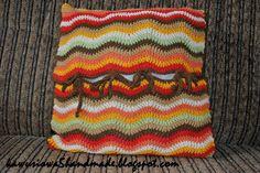 poduszka  crochet pillow