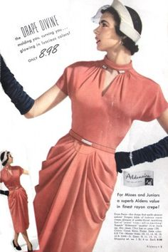 1950s Bell Dress. A short lived history at VintageDancer.com