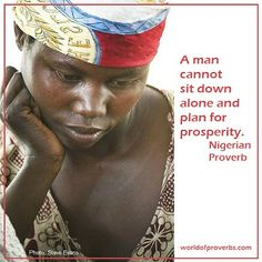 World of Proverbs - Famous Quotes: African