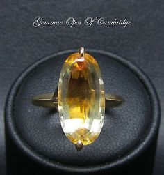 French Tests as Gold Oval Bi Colour Citrine Ring Size L Citrine Ring, French, Colour, Rings, Gold, Wedding, Color, Valentines Day Weddings, French People