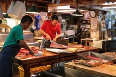 Monday Moment: Tsukiji Fish Market, Tokyo