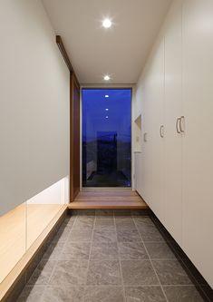 高台の家   注文住宅なら建築設計事務所 フリーダムアーキテクツデザイン