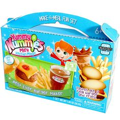 """Yummy Nummies Make-a-Meal Fun Set - Best Ever Burger Maker - Blip Toys - Toys """"R"""" Us"""