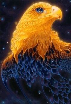Very beautiful gif Fantasy Creatures, Mythical Creatures, Beautiful Birds, Animals Beautiful, Beautiful Gif, Beautiful Pictures, Vogel Gif, Eagle Pictures, Phoenix
