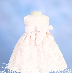 Princess Petals Baby Easter Dress