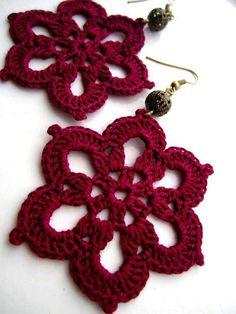 Luty Artes Crochet: bijuterias em geral
