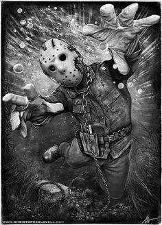 ~Jason..  Friday The 13th Trilogy ~