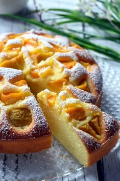 Jogurtowe ciasto z brzoskwiniami – Smaki na talerzu Polish Recipes, Food Cakes, Hot Dog Buns, Waffles, Cake Recipes, Recipies, Cooking Recipes, Sweets, Bread