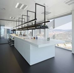 Laboratory And Creativity Room. Floor 18 Puig Tower - Picture gallery