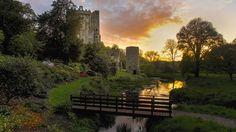 Blarney Castle & Gardens Blarney, Co. Cork, Ireland.