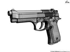 Hand gun topology.