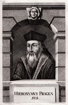 Engraving of Jerome of Prague by Johann Balzer. He was a philosopher, theologian, university professor, and church reformer who dedicated his life to eradicate those church doctrines and dogmas he found to be corrupt. He was constantly in and out of jail.[3] His radical ideas eventually brought about his death by execution as a heretic to the church, but made him a martyr for the Protestant Reformation and followers of Jan Hus (known as Hussites).[citation needed]