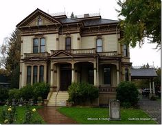 Quiltville's Quips & Snips!!: A Sunday Afternoon House Tour!  Meeker Mansion-Puyallup, WA
