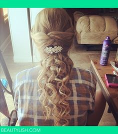 cute prom hairstyle   Chelcey S.'s Photo   Beautylish