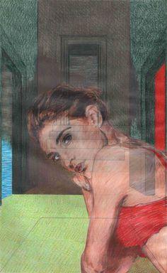 """""""Studio sulla coscienza n°39. 2015 (Dominio)"""" con Shari Work"""