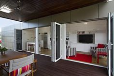 Compact Prefab House is Made from a Single Shipping Container ...