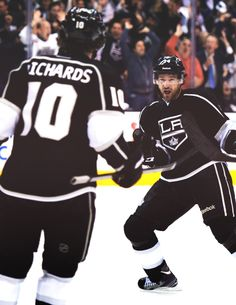 Mike Richards and Justin Williams, LA Kings