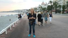 On the beachfront at Nice 2013