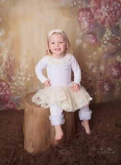 Baby+dress++girls+dress++ivory+dress++toddler+by+PoshPeanutKids,+$38.95