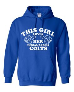 This Girl Loves Her New England Patriots Great Hoodie For Football Fans Makes Fantastic Gift Unisex Hoodie Sizes Youth Small Thru Adult Go Eagles, Eagles Fans, Eagles Gear, Bills Football, Football Fans, Football Stuff, Indiana Football, Football Season, Nfl