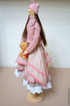 Купить Кукла тильда Мила - кукла ручной работы, кукла Тильда, куклы и игрушки ♡