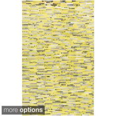 Shop for Hand-Crafted Jeremiah Animal Leather Rug (8' x 10'). Get free shipping…