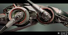 Bombus AG Fighter - Quixel SUITE 2.0 by Wiktor Öhman | Sci-Fi | 3D | CGSociety