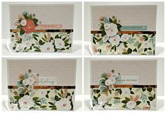 Rose Blossom Legacies: Rose Blossom Blog Hop On the two bottom cards, I chose to use sentiments from the stamp set in the Flower Market collection.  Other than that, this is all from the Workshop Your Way!  You can find the directions for the card box HERE.