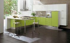 Ideas para Decorar una Cocina Pequeña - Para Más Información Ingresa en: http://modelosdecasasmodernas.com/2013/10/04/ideas-para-decorar-una-cocina-pequena/