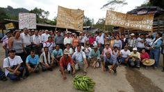 COLOMBIA:CAMPESINOS CELEBRAN SU DIA Y TRIUNFO CONTRA MONSANTO-NOTICIAS-TELESUR-Protesta campesina en 2013    Foto: archivo