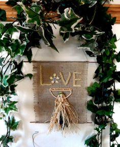Pagan Goddess Wall Hanging. Handmade in by PositivelyPagan on Etsy