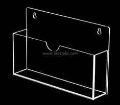 Custom wall clear acrylic literaturer holder BH-2235 Brochure Stand, Brochure Holders, Book Display Stand, Display Wall, Newspaper Stand, Business Card Displays, Magazine Holders, Color Shapes, Custom Wall