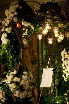 Oh my... I love this chuppah... it's just a little bit perfect.  :)