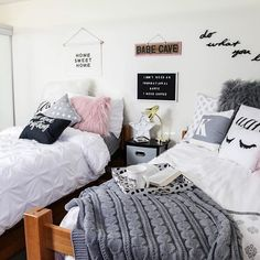 Have checked out our Real Room Series yet? // shop dormify.com to see the rest of this girly glam NYC dorm