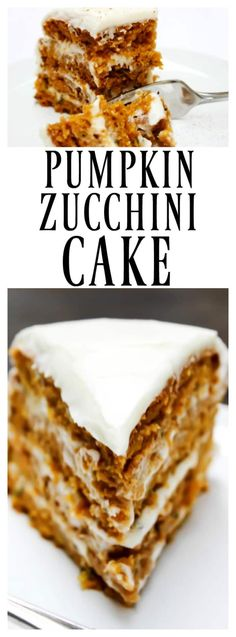 This Pumpkin Zucchini Cake literally is my new favorite pumpkin treat. Move over Starbucks PSL (steamer) I have a new favorite.
