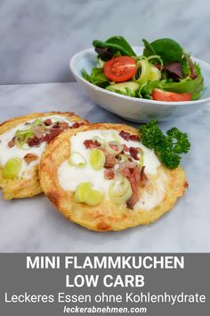 Healthy Muffin Recipes, Healthy Muffins, Low Carb Recipes, High Protein Low Carb, Healthy Protein, Low Carb Flammkuchen, Nutritional Supplements, Bruschetta, Food And Drink