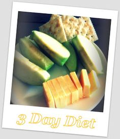 3 Day Diet- It actually works :)
