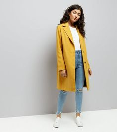 b262696dc 9 Best Yellow jacket outfit images in 2019