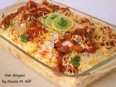 Fish Biryani | Fauzia's Kitchen Fun