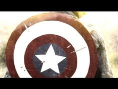 Don't forget to bring over your Captain America's Shield if you decided to be Super Hero in Halloween party. Don't have? DIY one by following this video.